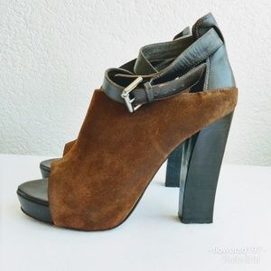 All Saints Manifest Strap Boot Size 9